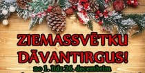 Ziemassvētku DĀVANTIRGUS Kandavā