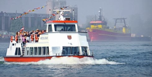 "Ventspils Excursion Boat ""Hercogs Jēkabs"" Begins Its 25th Season on June 10"
