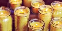 Sveču liešanas darbnīcas ar Baibu Tikumu