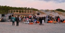 Ventspils pludmales kafejnīcā notiks saulrieta koncerts
