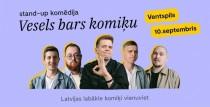 Comedy Latvia atsāk vislatvijas tūri Ventspilī !