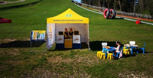 Bank of Venti supports the Adventure park of Ventspils marathon