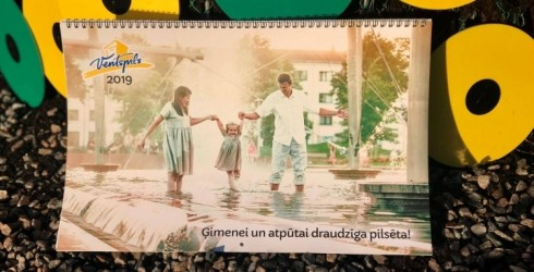 Iznāk jaunais Ventspils 2019. gada foto kalendārs