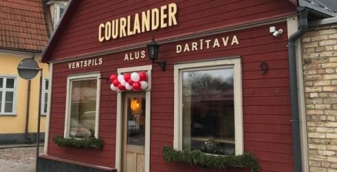 """Ventspilī - alus bāra """"Courlander"""" atklāšana!"""