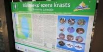 Uzlabo Būšnieku ezera dabas takas informācijas pieejamību