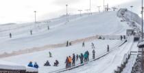 Slēpošanas kalna nogāze joprojām darbojas, nav pieejama distanču slēpošana