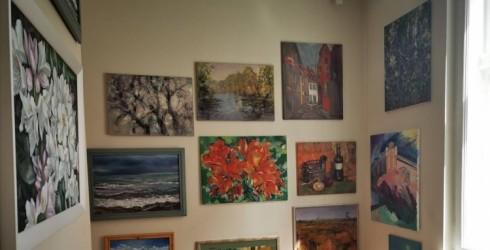 Apskatei atvērta Ventspils mākslinieku gleznu galerija