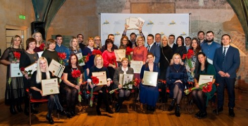 Apbalvoti konkursa 2018. gada labākie ēdināšanas un izmitināšanas uzņēmumi Ventspilī