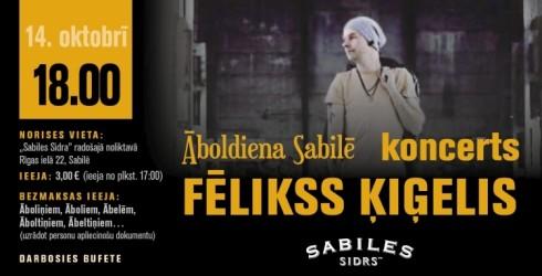 Fēliksa Ķiģeļa koncerts Sabilē