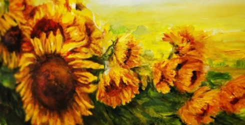"""Gleznošanas studijas """"Konsuelo"""" izstāde galerijā """"Žagata"""""""