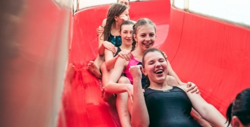 Active Recreation in Ventspils Together With Entire Class