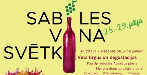 Pievieno savu dzirksti 20. Sabiles Vīna svētkiem!