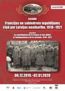 Liepājas Biedrības namā tiks atklāta izstāde par Francijas un sabiedroto ieguldījumu cīņā par Latvijas neatkarību