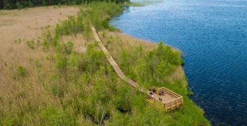 Aicinām atklāt Būšnieka ezera burvību Ventspilī!