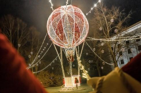 Liepājas Ziemassvētku dekorācijas