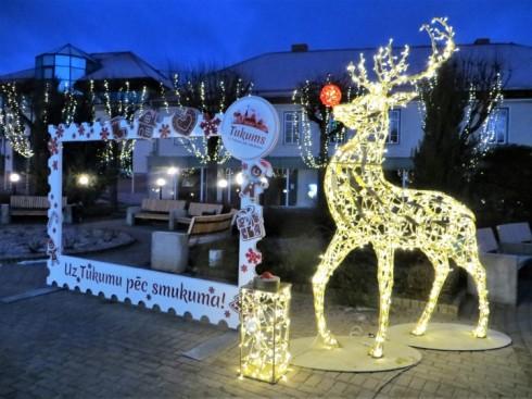 Ziemassvētku un Jaungada pasākumi Tukumā un apkārtnē