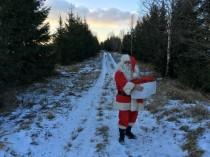 Jau piekto gadu Ziemupes Ziemassvētku vecītis aicina dāvināt prieku