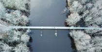Atjaunots tilts pāri Irbes upei