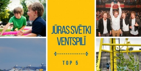 The Sea Festivalin Ventspils  is already this weekend. The event programme is truly diverse – all kinds of events and activities will take place in the city throughout the day.