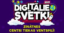 Apmeklē Digitālos svētkus un iepazīsti topošos Latvijas zinātnes centrus