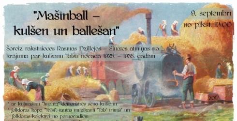 Talsos mašīnball – kulšen un ballešan