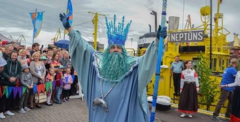 14 и 15 июля в Венстпилсе пройдет традиционный Праздник моря. Девиз нынешнего праздника: «Ветер в парусах».