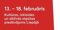 Pasākumi Liepājā no 13. līdz 18.februārim
