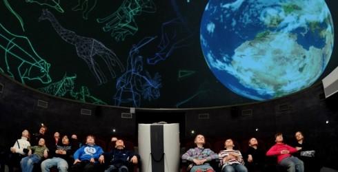 Atklāj visumu uz 360 grādu ekrāna