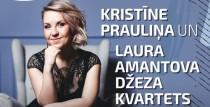 Kristīne Prauliņa un Laura Amantova džeza kvartets Talsu Radošajā sētā