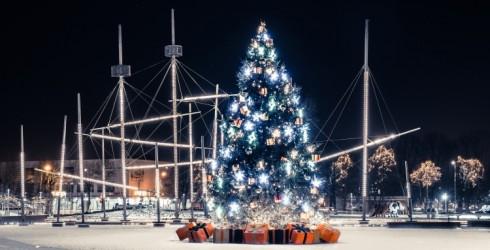 Ziemassvētku noskaņu aicina izbaudīt Ventspilī