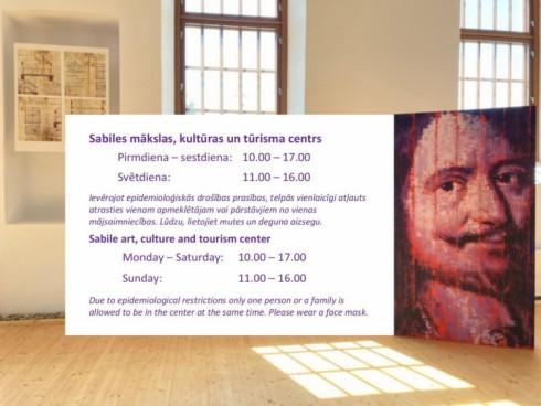 Apmeklētājiem atvērts Sabiles mākslas, kultūras un tūrisma centrs
