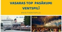 Aicinām baudīt vasaru un pasākumus Ventspils pilsētā!