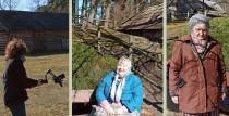 Vien Ziv zup Ventspilī | Ventspils Piejūras brīvdabas muzejs ar savu senatnīgo noskaņu apbur stāstniekus