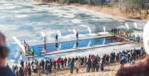 27.janvārī Liepājā notiks atklātais XIV Latvijas ziemas peldēšanas čempionāts