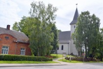 The Lutheran Church of Priekule