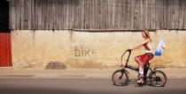 Blue Shock Bike