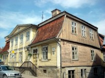 The oldest wooden building in Kurzeme
