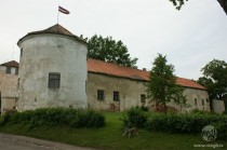 Livonian Order Castle in Alsunga