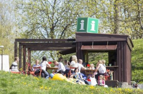 """Grobiņas vasaras tūrisma informācijas centrs """"ICafe"""""""